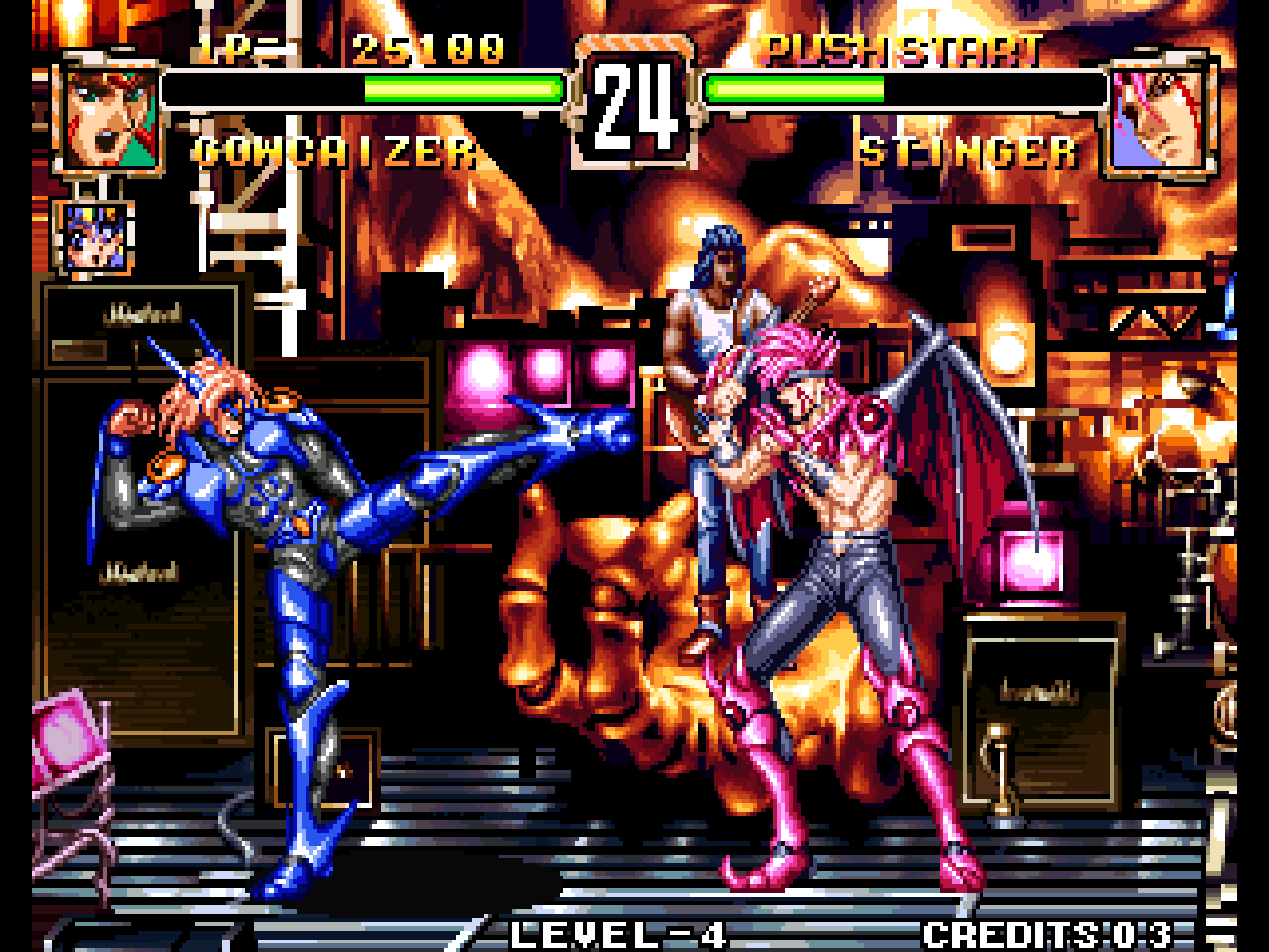 Voltage Fighter Gowcaizer Review Neo Geo 1995 Infinity Retro