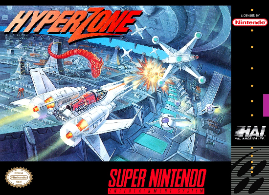 HyperZone Review (Super Nintendo, 1991)