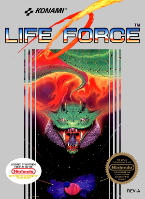 Life Force Review (Nintendo, 1988)